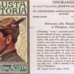 1923 Aosta, cartolina
