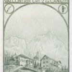 1926 Rifugio Confortin, cartolina