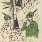 1953 Cortina d'Ampezzo, cartolina