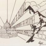 1954 Roma, cartolina