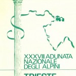 1965 Trieste, manifesto