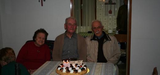 """I 90 anni di Agostino Quaggiotto """"Bruno Baiton"""""""