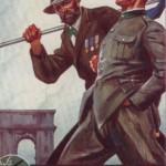 1929 Roma, cartolina