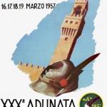 1957 Firenze, cartolina