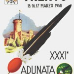1958 Trento, cartolina