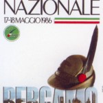 1986 Bergamo, manifesto