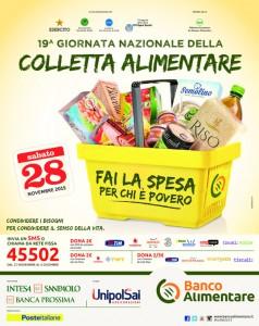 Locandina colletta alimentare 2015