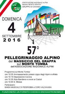 57° Pellegrinaggio Monte Tomba 2016